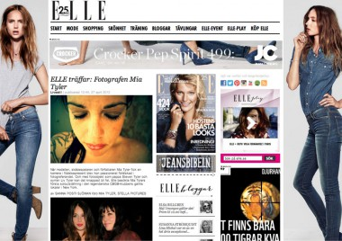 MIA TYLER INTERVIEW #ELLE SWEDEN
