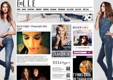 MIA TYLER INTERVIEW #ELLE SWEDEN