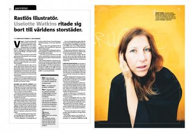 LISELOTTE WATKINS #TVÅ DAGAR FEATURE
