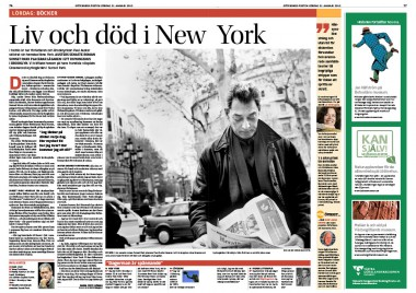 PAUL AUSTER INTERVIEW #GÖTEBORGS-POSTEN ARTS