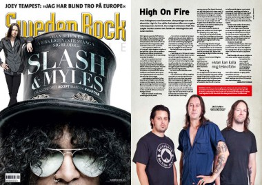 HIGH ON FIRE INTERVIEW #SWEDEN ROCK MAGAZINE