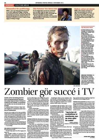 ROBERT KIRKMAN INTERVIEW THE WALKING DEAD #GP