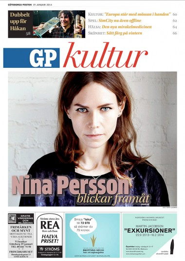 NINA PERSSON - INTERVIEW #GÖTEBORGS-POSTEN